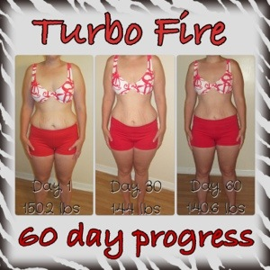 60 day results with turbo fire | Weight Loss with TurboFire!!!